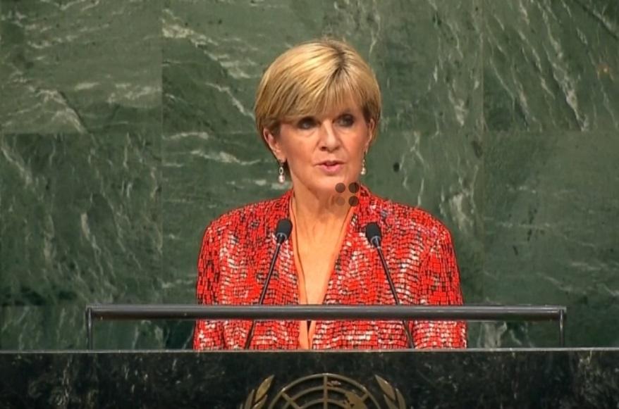 Ngoại Trưởng Úc Julie Bishop bất ngờ từ chức