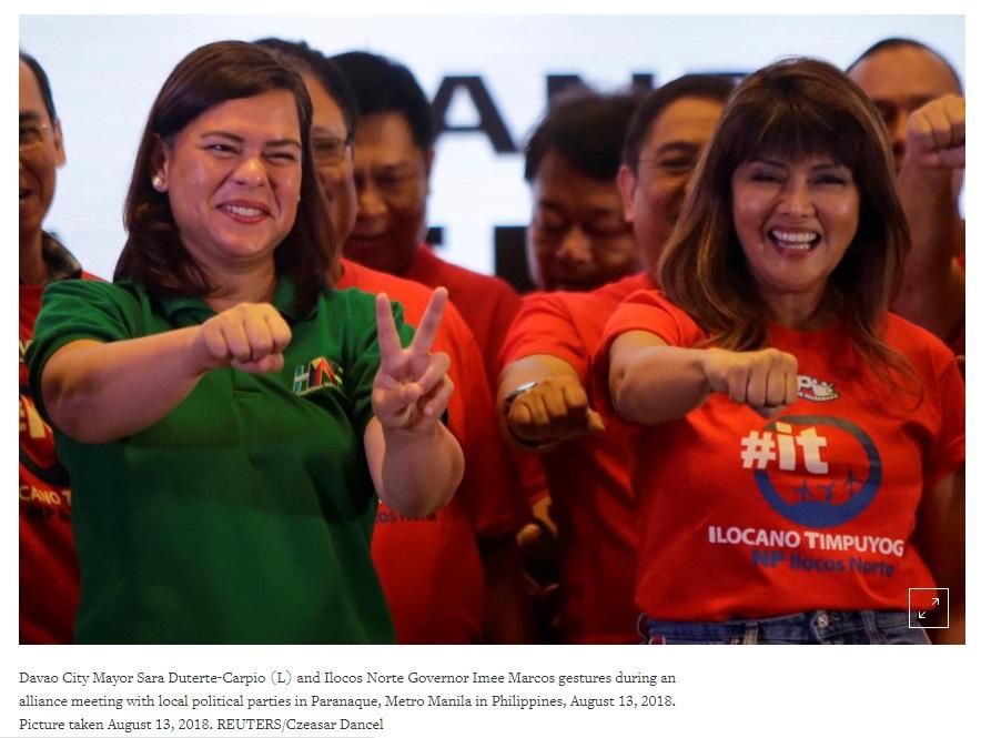 Tổng thống Philippines muốn nghỉ hưu, con gái muốn lên kế vị
