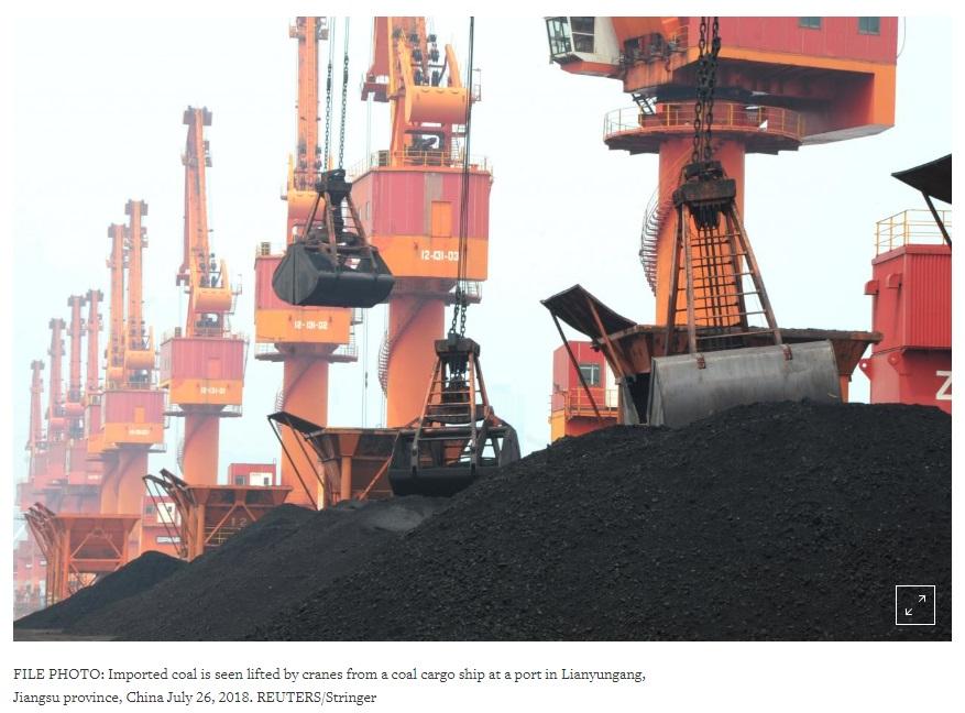 Trung Cộng chuẩn bị chuyển từ nguồn than Hoa Kỳ sang nội địa do thuế nhập cảng