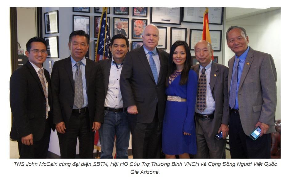 Thượng Nghị Sĩ John McCain, người bạn của cộng đồng người Mỹ gốc Việt qua đời, hưởng thọ 81 tuổi