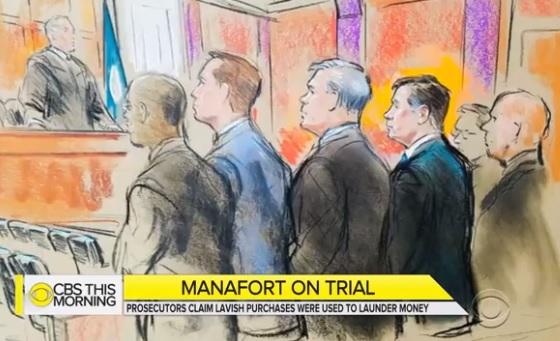 Thẩm phán liên bang cáo buộc Paul Manafort nhận tiền bất chính
