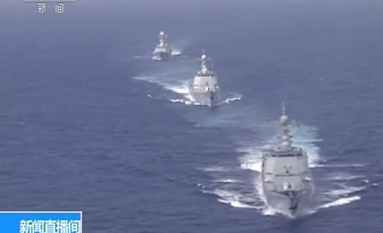 Trung Cộng phô trương sức mạnh quân sự với hàng loạt cuộc tập trận hải quân