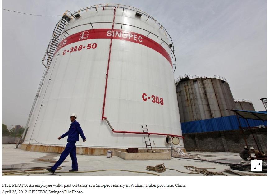 Công ty Unipec Trung Cộng sẽ tiếp tục mua dầu thô Hoa Kỳ