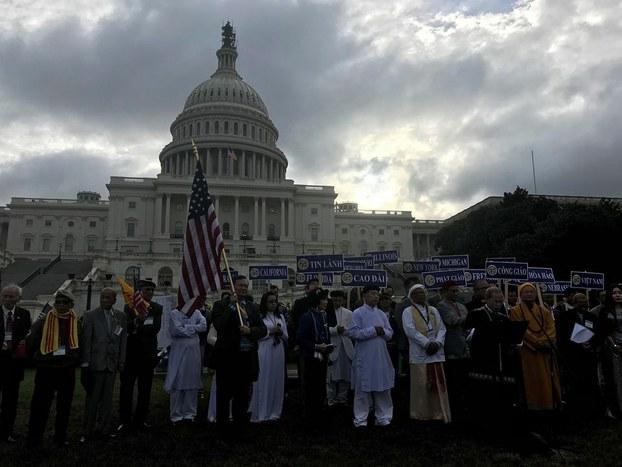 Hội Nghị Đa Sắc Tộc-Đa Tôn Giáo Việt Nam đầu tiên tại Quốc Hội Hoa Kỳ
