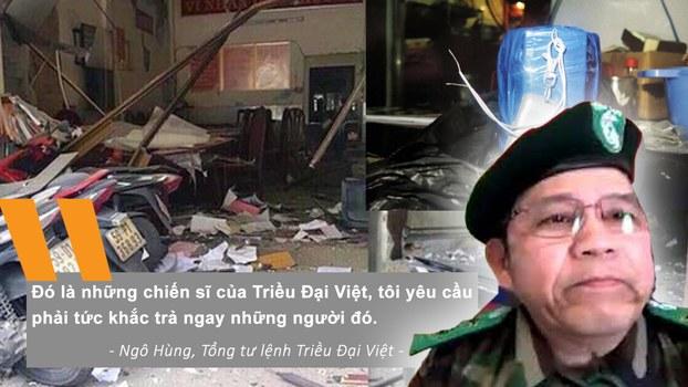 CSVN bắt thêm 7 người thuộc tổ chức Triều Đại Việt