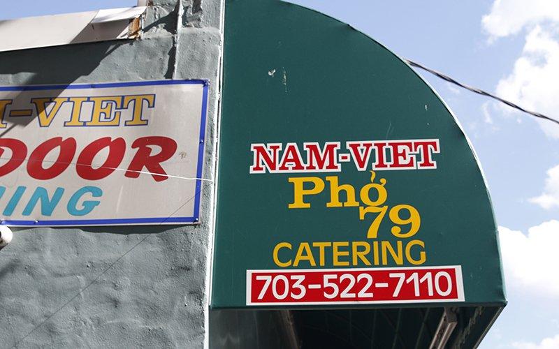 Nhà hàng Nam Việt Phở 79 ở Virginia là nơi ông McCain thường cùng bạn tù hội họp