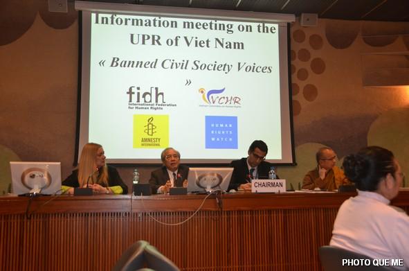 CSVN che giấu vi phạm nhân quyền trong báo cáo gởi Liên Hiệp Quốc