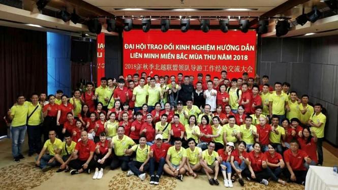 Hàng trăm hướng dẫn viên du lịch Việt Nam và Trung Cộng lập liên minh tour 0 đồng