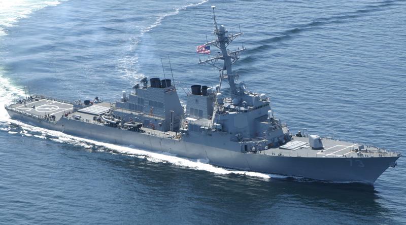 Hải Quân Hoa Kỳ đưa chiến hạm áp sát hai bãi đá Gaven và Gạc Ma thuộc Trường Sa