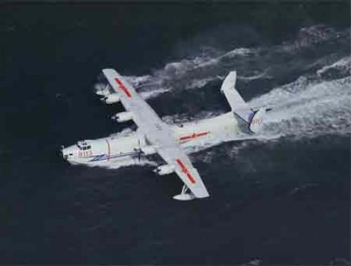 Trung Cộng thử thành công thủy phi cơ lớn nhất thế giới tăng khả năng xâm chiếm biển đảo