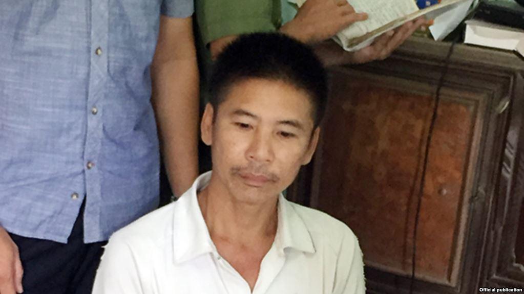 Tòa Quảng Bình xử nhà hoạt động nhân quyền Nguyễn Trung Trực 12 năm tù