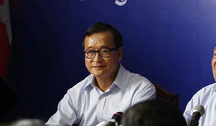 Cựu lãnh tụ đối lập Sam Rainsy hứa coi người Thượng Việt Nam như công dân Cambodia