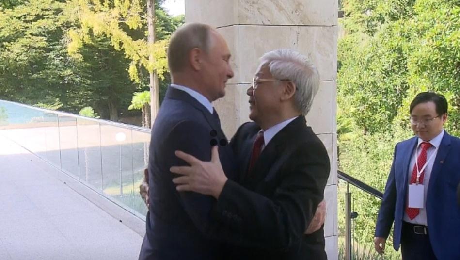 Nguyễn Phú Trọng ký hàng loạt thỏa thuận với tổng thống Nga Putin tại Sochi