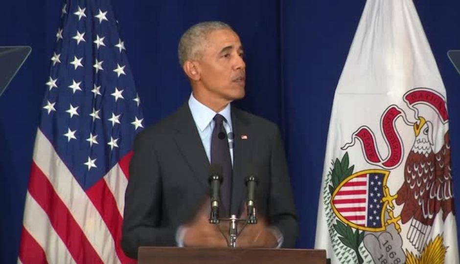 Ông Obama chỉ trích tổng thống Trump và đảng Cộng Hòa, kêu gọi cử tri Dân Chủ đi bầu