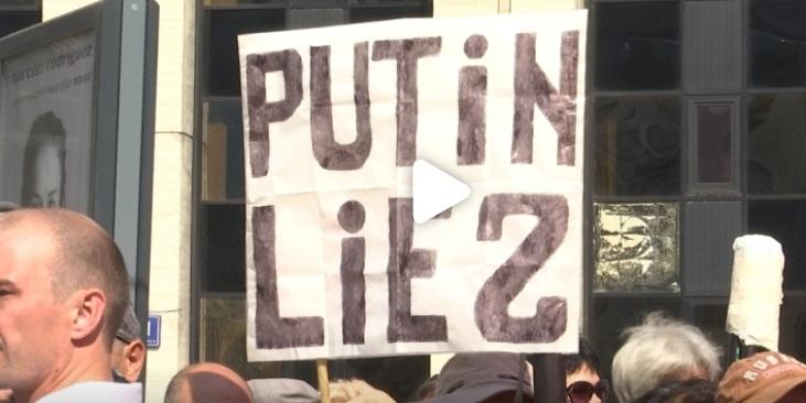 Dân Nga biểu tình phản đối luật cải cách hưu trí