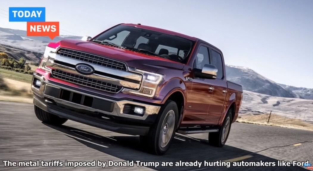 Hãng xe hơi Ford mất 1 tỷ Mỹ kim lợi nhuận vì thuế nhôm và thép