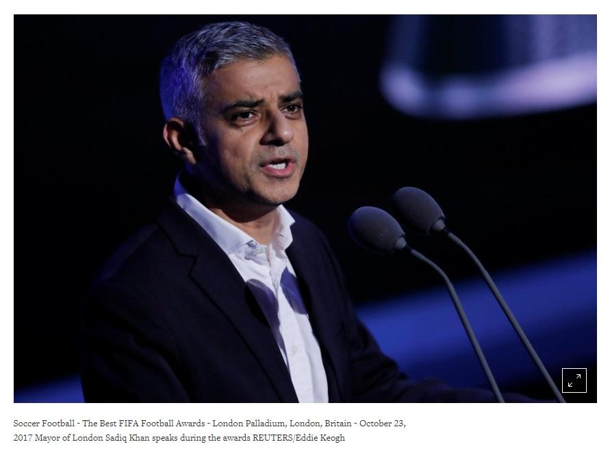 Thị trưởng London kêu gọi trưng cầu dân ý lần thứ hai về Brexit