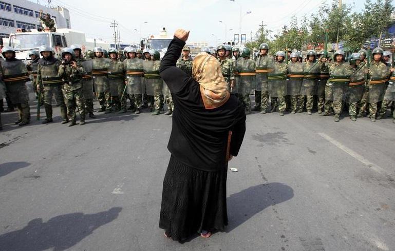 Trung Cộng cáo buộc Phương Tây khích lệ các phần tử nổi dậy ở Tân Cương