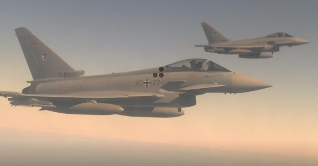 Phản lực cơ NATO đồng loạt phô diễn khả năng ngăn chận đe dọa của Nga