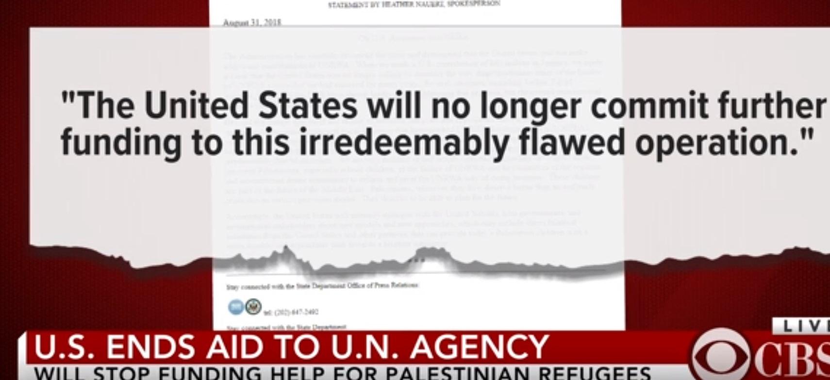 Tổng thống Trump dọa cắt viện trợ nếu Palestine không đồng ý thỏa thuận hòa bình