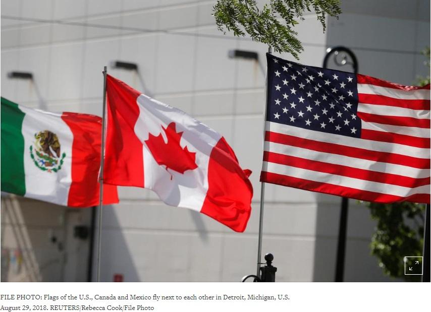 Hiệp ước NAFTA cải tiến có thể sẽ không có Canada