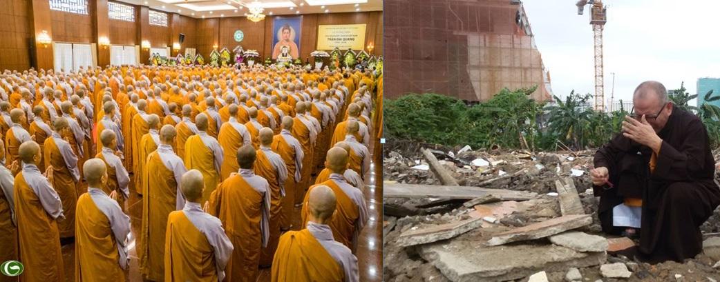 500 tăng ni cầu siêu cho ông Trần Đại Quang: cái nhìn từ một Phật tử (Chân Tâm)