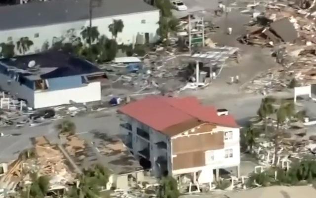 Số người thiệt mạng tăng khi bão Michael tàn phá Florida
