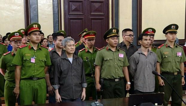 5 nhà hoạt động thuộc 'Liên Minh Dân Tộc Việt Nam Tự Quyết' bị xử 57 năm tù