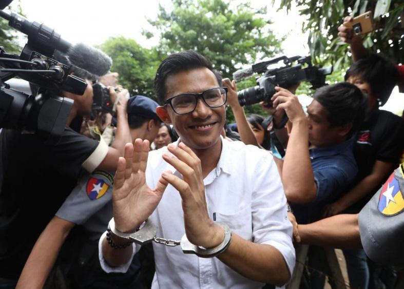 Ba nhà báo Myanmar bị cảnh sát giam giữ