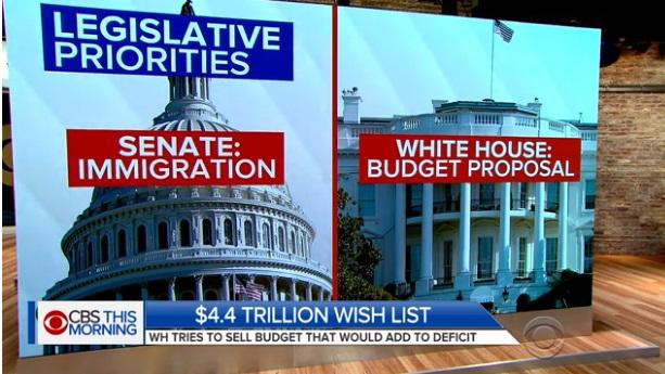 Thâm thủng ngân sách liên bang tăng cao kỷ lục trong vòng 6 năm qua
