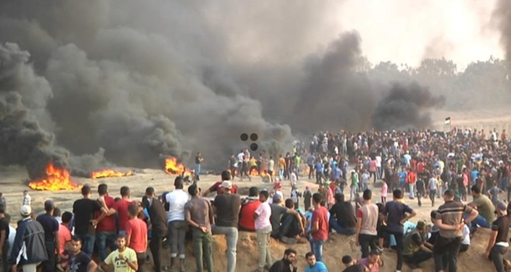 Israel nổ súng khiến 130 người Palestine bị thương tại  biên giới dải Gaza