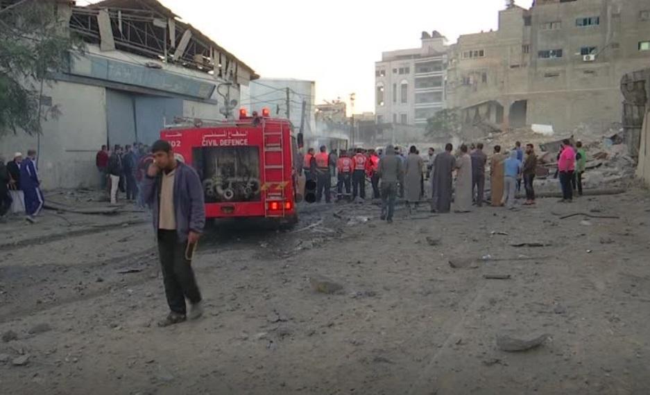 Giao tranh Isarel- Hamas xảy ra sau ngày biểu tình đẫm máu ở dải Gaza