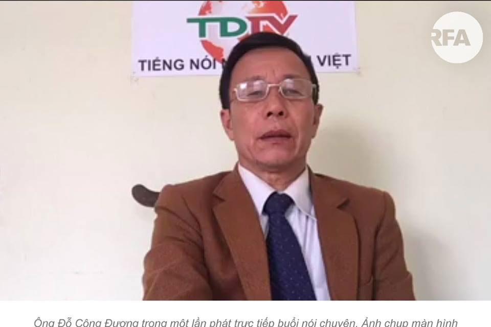 Nhà báo công dân Đỗ Công Đương bị kết án thêm 5 năm tù
