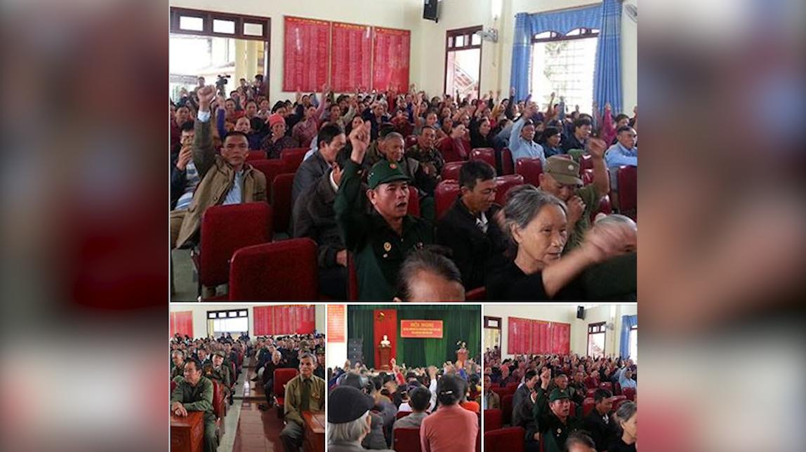 Linh mục Đặng Hữu Nam bị chính quyền CSVN đem tên tuổi ra đấu tố
