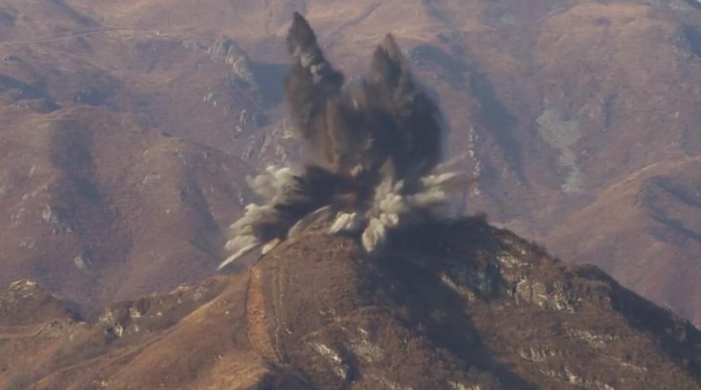 Bắc Hàn cho nổ các đồn biên phòng tại khu vực phi quân sự