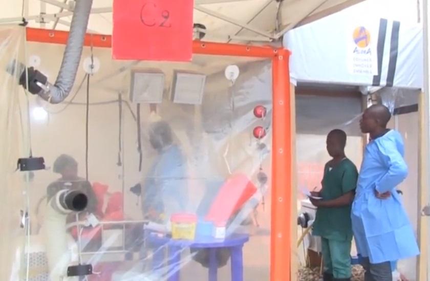Dịch Ebola đang bùng phát tại Congo