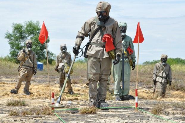 Việt Nam và Hoa Kỳ hoàn tất tẩy rửa dioxin tại phi trường Đà Nẵng