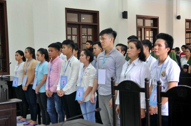 15 người tham gia biểu tình ở Đồng Nai bị y án tù