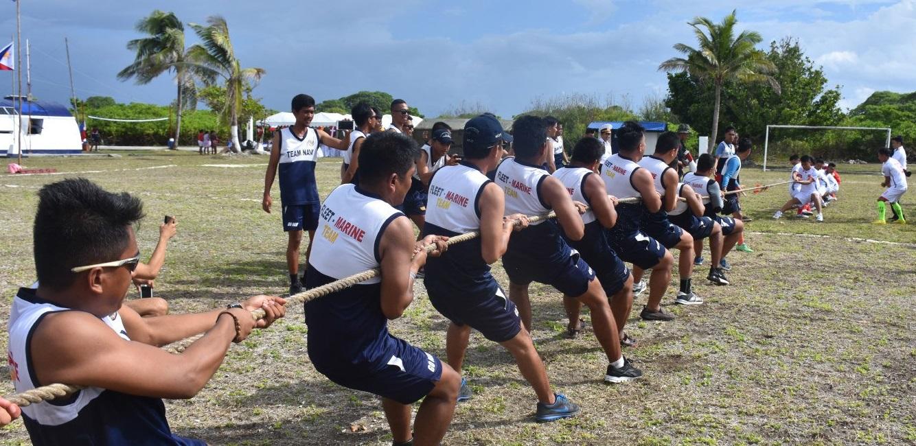 Hải quân Philippines và CSVN thao diễn quân sự tại Trường Sa