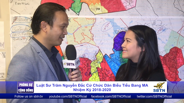Luật Sư Trâm Nguyễn đắc cử chức Dân Biểu Tiểu Bang Massachusetts nhiệm kỳ 2018-2020
