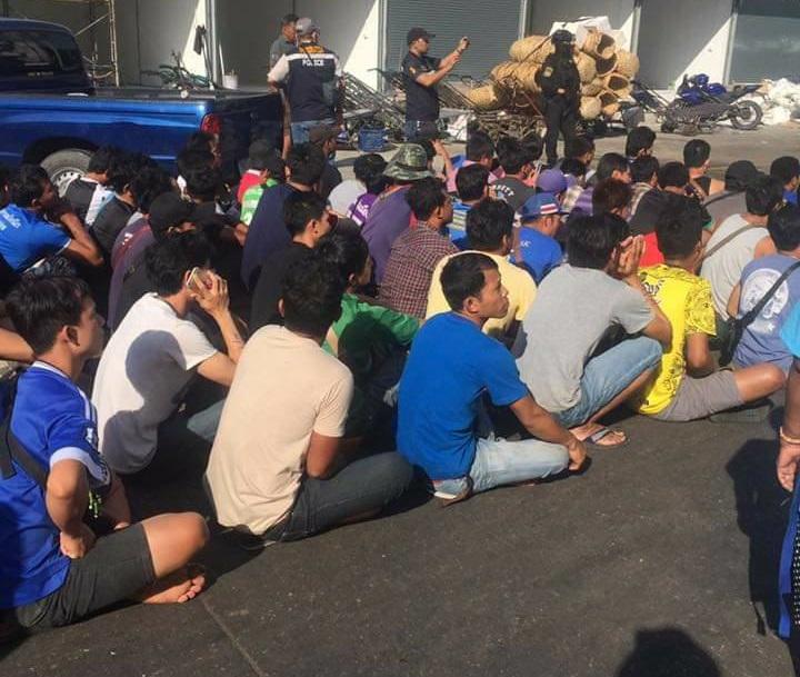 Gần 200 người Thượng di dân bất hợp pháp bị chính quyền Thái Lan bắt