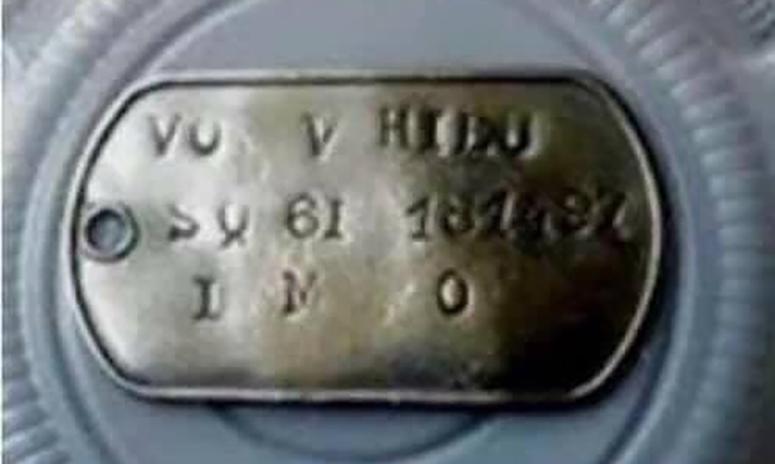 Cư dân huyện Xuân Lộc phát hiện hài cốt của tử sĩ Việt Nam Cộng Hoà