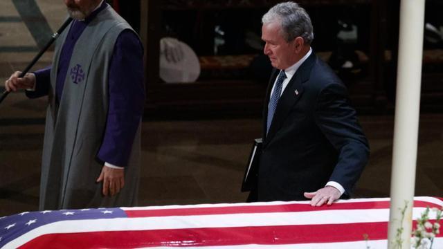Bài điếu văn xúc động của cựu Tổng thống George W. Bush gửi người cha quá cố