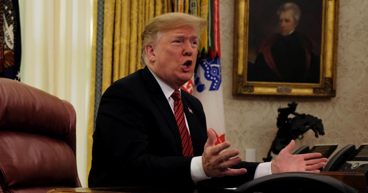 Tổng thống Trump thông báo sử dụng tiền đóng cửa chính phủ để xây dựng bức tường biên giới