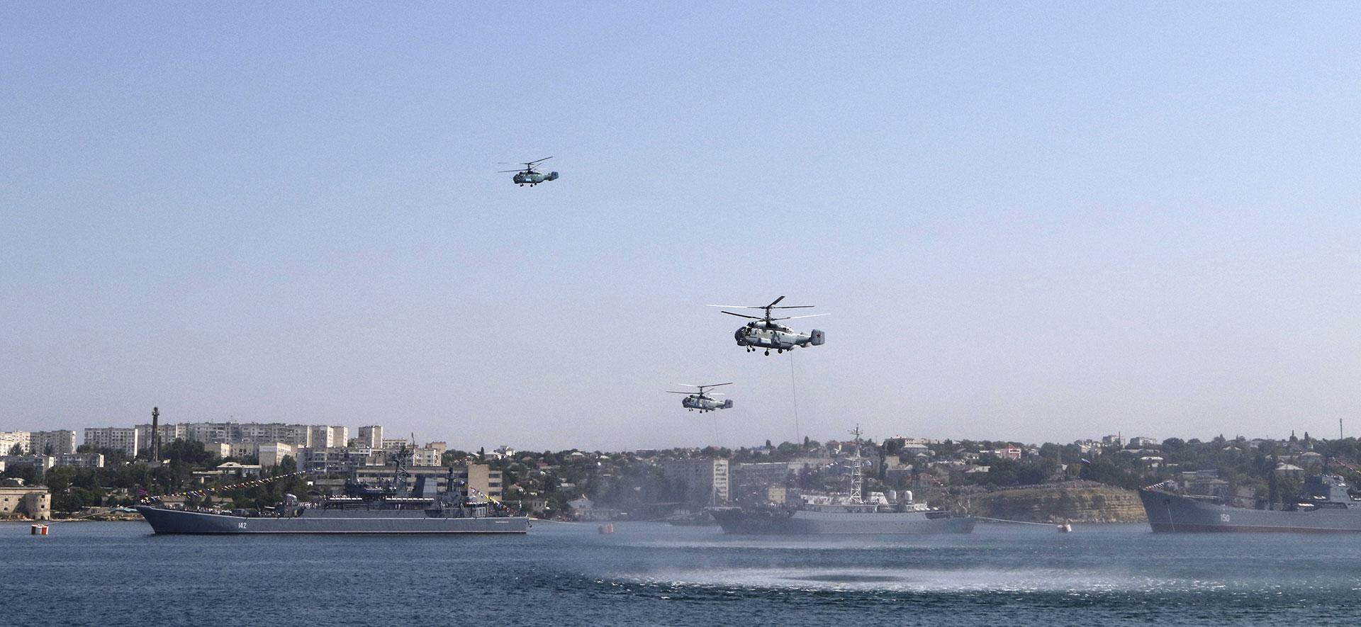 Nga tiến hành tập trận tại khu vực Biển Đen