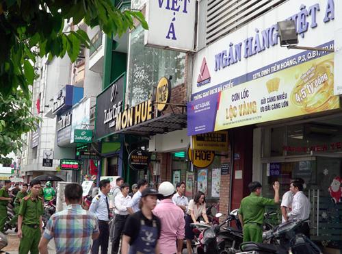 Cướp ngân hàng ở Sài Gòn