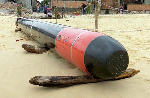 Trung Cộng và CSVN đang thảo luận về quả ngư lôi do ngư dân Phú Yên vớt được