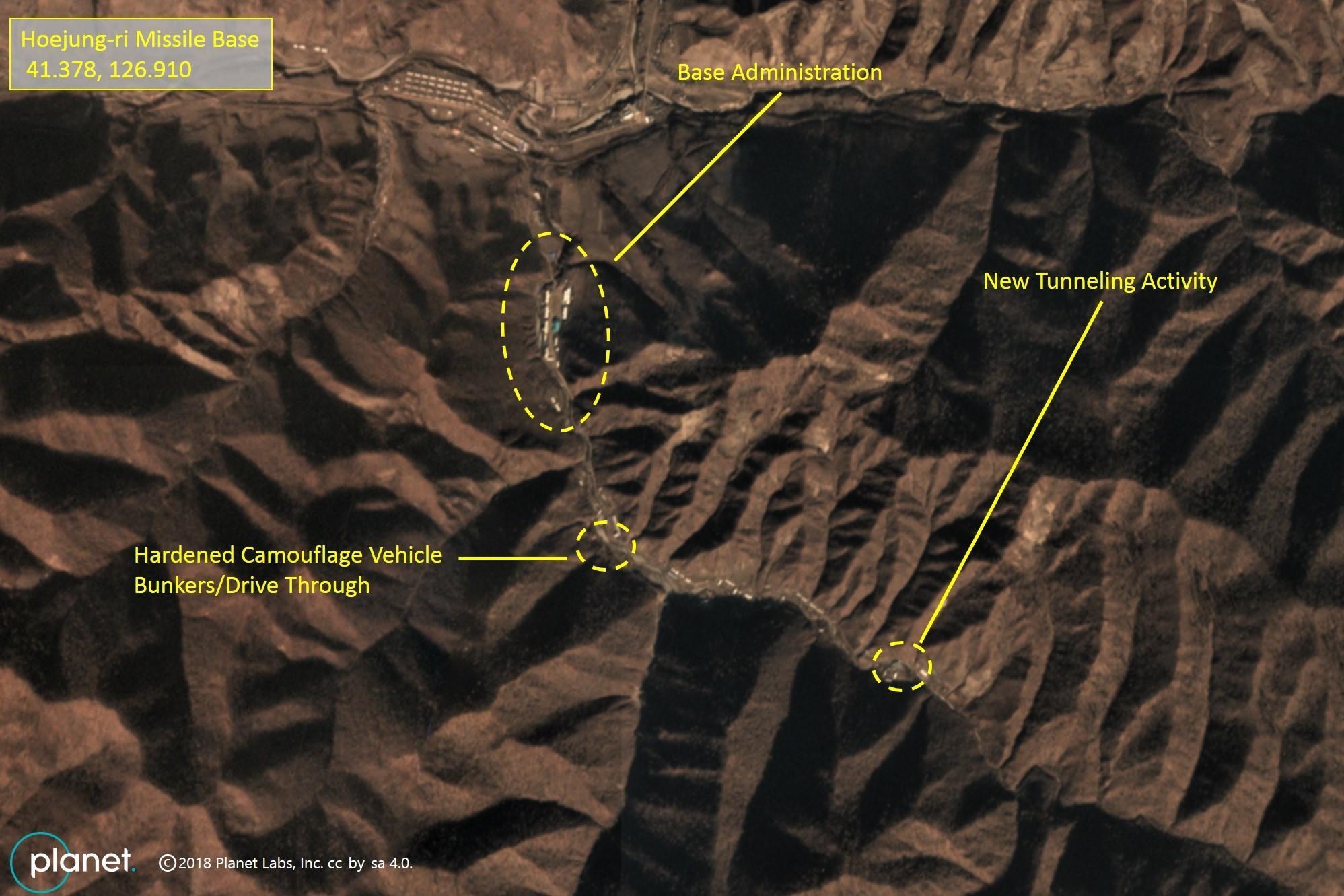 Bắc Hàn tiếp tục mở rộng cơ sở hỏa tiễn