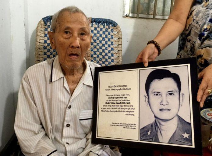 Chuẩn tướng Nguyễn Hữu Hạnh sống khốn cùng trong nghĩa trang