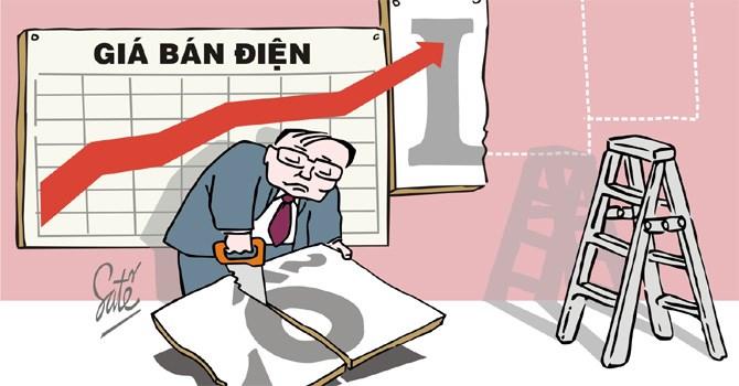 Tăng giá điện ở Việt Nam kể từ đầu năm mới